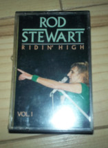 Rod Stewart Ridin' High Vol I Cassette  SEALED - $6.79