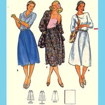 """416 WOMENS A-LINE SKIRT & MATCHING SHAWL 24"""" WAIST, VINTAGE SEWING PATTE... - $3.95"""