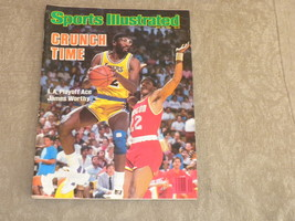 Sports Illustrated May 1986 James Worthy Lakers, Mears, W Andrews Boston... - $6.20