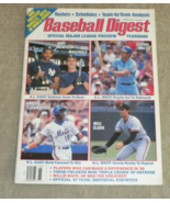 Baseball Digest Yearbook Preview 1988 Mays, Mattingly, Clark, Brett, Strawberry - $20.00