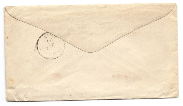 1897 East Northfield MA Discontinued/Defunct (DPO) Post Office Postal Cover