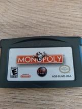 Nintendo Game Boy Advance GBA Monopoly image 2