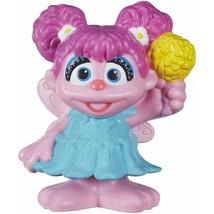 "Playskool Sesame Street Abby Sesame Street Friends 3"" Figure New In Package - $6.88"