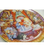 Whisker Wuv - Valentine Love Cat Plate Porcelain - $16.00