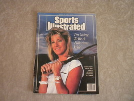 Chris Evert Sports Illustrated Tennis Aug 1989: Jim McMahon, Nolan Ryan,... - $5.79