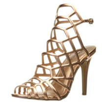 Madden Girl Women's Directt Dress Sandal, Rose Gold, 8.5 M - $54.99