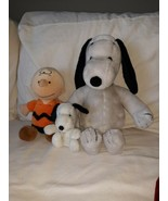 Vintage Peanuts Snoopy And Belle 1968 Plushie  - $38.00