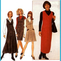 Simplicity 7759 Womens Straight or Flared Jumper 6 8 10 12 Sewing Patter... - $5.95