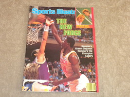Sports Illustrated May 1986 Olajuwon, Dennis Johnson, Wally Joyner, Chri... - $5.79