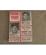 Baseball Digest Frank Howard, Tom Tresh, Juan Marichal, Pete Runnels Nov 1962 - $16.00