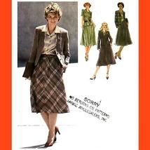 506 Womens Vintage Skirt, Blouse, Cardigan Jacket Sz 16, Sewing Pattern Uncut - $5.95