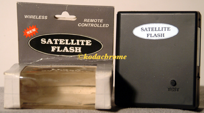 NIB Wireless Satellite Electronic Flash Unit-Remote Controll