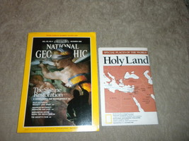 Sistine Restoration, Advanced Materials, Holy Land Map National Geographic 1989 - $6.94
