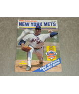 1987 New York Mets Scorebook Sid Fernandez, Tim Teufel, HoJo, Stottlemyre Fine - $5.93