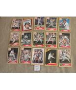 Lot of  15 NY Yankees 1987 orig TOPPS cards: Niekro, Righetti, John, Eas... - $5.79