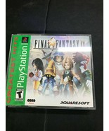 PS1 Final Fantasy IX / 9 Greatest Hits COMPLETE CIB SONY PLAYSTATION Tested - $24.70