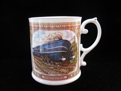 Caverswall Fine Bone China Coronation Train Mug