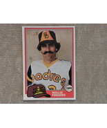 Rollie Fingers San Diego Padres original 1981 TOPPS  card  NM - $3.99