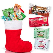 Christmas Stocking Healthy Holiday Gift: Pre Filled Stockings Stuffers with Chri