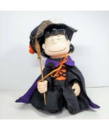 Gemmy Animated Lucy Halloween Witch Doll Plays Peanuts Theme Song See Video - $29.99