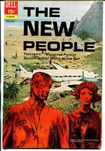 New People #1 1970 Dell-1st issue-TV series-VF - $56.75