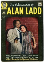 ADVENTURES OF ALAN LADD #2 PHOTO COVER-1949-RARE DC VF - $394.06