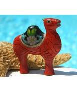 Vintage Camel Cinnabar Cloisonne Focal Bead Pen... - $39.95