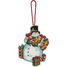 Snowman Susan Winget Ornament Kit counted cross... - $6.30
