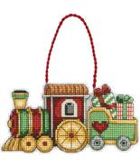 Train Susan Winget Ornament Kit counted cross s... - $6.30