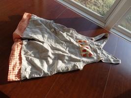 Jill's Women Short Bib Overalls Khaki Sz XS P - $16.59