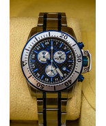 INVICTA MENS PRO DIVER CHRONOGRAPH STAINLESS STEEL BLACK DIAL WATCH 11287 - $97.07
