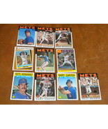 1986 NY Mets 10 TOPPS Baseball cards Keith & Gary All Star, Gooden, Seav... - $7.99