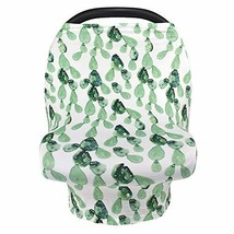 Nursing Cover Breastfeeding Scarf, Car Seat Covers for Babies Infant Carseat Can