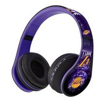 Lakers Black &  Purple  Headphones FM, Bluetooth & SD CARD - $26.00