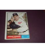 Johnny Romano Cleveland Indians 1961 orig TOPPS baseball card # 5  EXMT - $3.99
