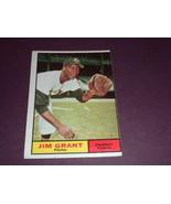 Jim Mudcat Grant  Cleveland Indians 1961 orig TOPPS baseball card # 18  ... - $3.99