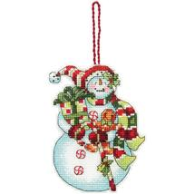Snowman with Sweets Susan Winget Ornament Kit c... - $6.30