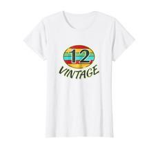 Funny Shirts - DOB 2012 TShirt Vintage Retro 28 Birth Year Tee Shirt Wowen - $19.95+