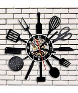 Personalized Cutlery Kitchen Utensil Record Clock Spoon Fork Knife 3D Vi... - €23,36 EUR