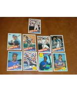 1985 NY Mets 9 TOPPS Baseball cards Keith All Star, Gooden, Darryl, Hubi... - $3.99