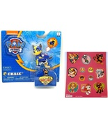 Paw Patrol Mighty Pups Chase Figure with Light-up Badge and Paws with St... - $13.95