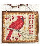 Hope Ornament Kit counted cross stitch Dimensions - $5.00