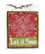 Let It Snow Ornament Kit counted cross stitch D... - $5.00