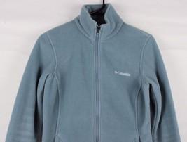 Columbia interchange women's fleece jacket full zip gray size M - $15.71