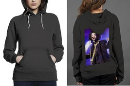 Classic Hoodie Black women Purple Rain Sing A Song - $28.99
