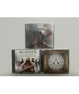 ASSASSINS CREED: 3 GAME SOUNDTRACKS:UNITY, BROTHERHOOD, SYNDICATE + PLUS... - $46.75