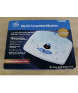 GE Digital Answering Machine 20 min Record Time & Remote Access White Home Phone - $24.74