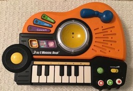 VTech 3-in-1 Musical Band - Piano Drum and Guitar, Jazz Hip-Hop and Rock - $16.63