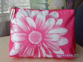 New Clinique Pink Daisy Cosmetic Bag - $9.41