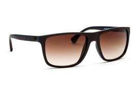Emporio Armani Sunglasses EA4033 523113 Blue Brown Lens 56mm Authentic - $105.73